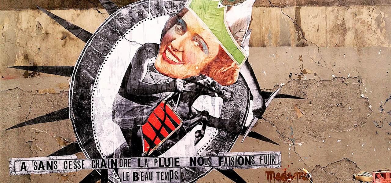 madame street art