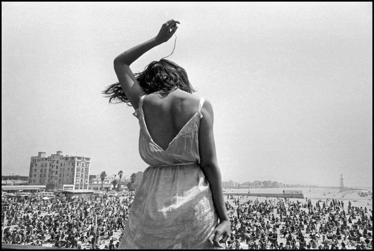 Dennis Stock - Venice Beach Rock Festival, 1968 - Image via filmsnotdead.com