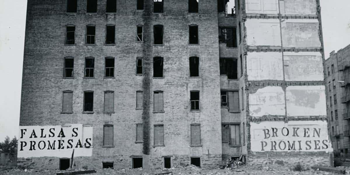 John Fekner - Broken Promises - Image via wikipedia.org