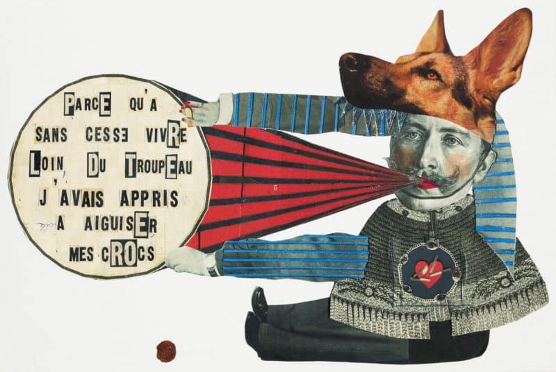Madame Le Troupeau (Print)