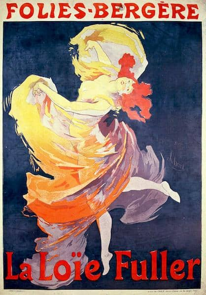 jules cheret folies bergere 1893