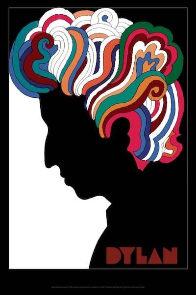Milton Glaser Dylan poster
